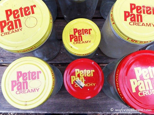Peter Pan Peanut Butter Jars