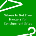 Where to Get Free Hangers for Consignment Sales