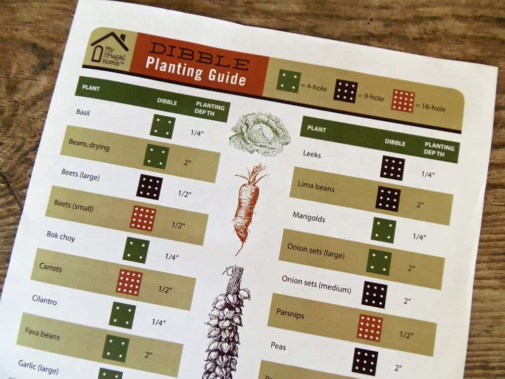 Dibble Planting Guide