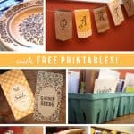 Seed Swap Party Pinterest Graphic