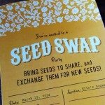 Seed Swap Invitations