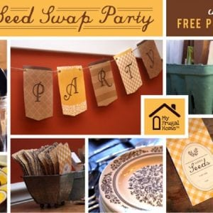 Seed Swap Party Printables