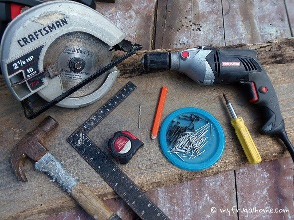 Tools Needed to Build Lady Bug House
