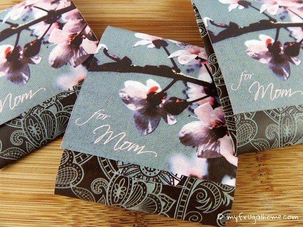 Printable Mother's Day Tea Bags