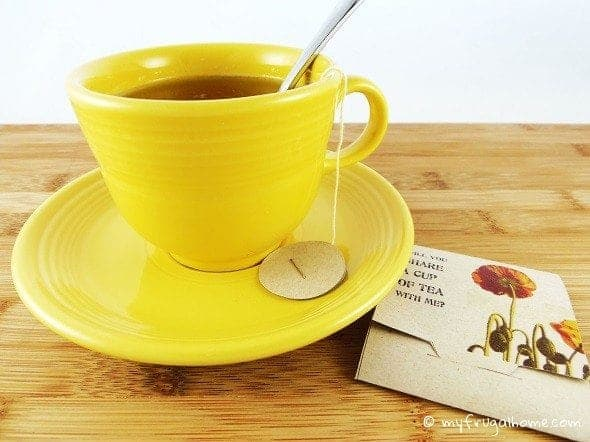 Printable Tea Bag Wrappers