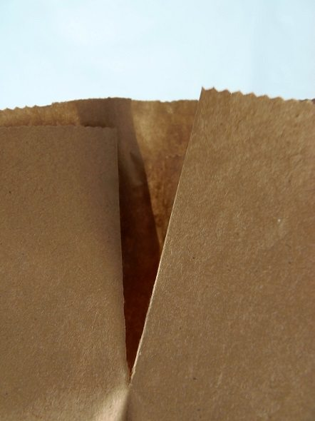 Cut Slits in the Sides of the Bags