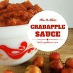 Crabapple Sauce