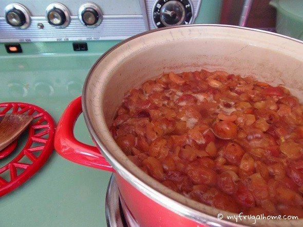 Cook Crabapples Until Soft