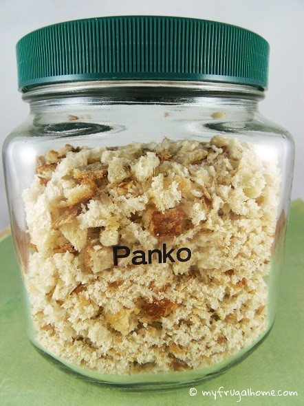 How to Make Panko Bread Crumbs