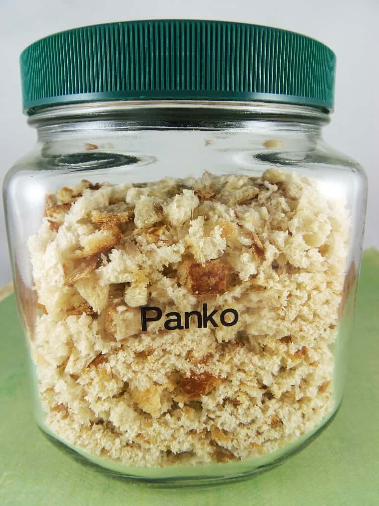 Homemade Panko  Bread Crumbs