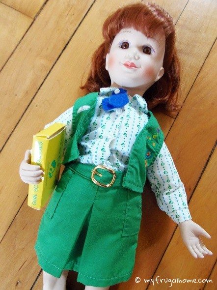 Junior Girl Scout Doll