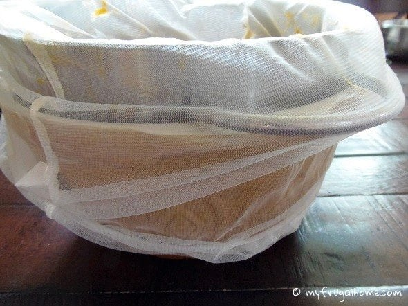 Use Paint Strainer Bags Instead of Cheesecloth