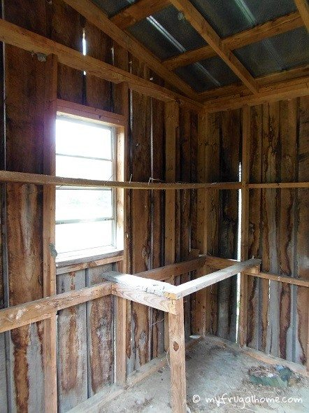 Bath House Before - Inside