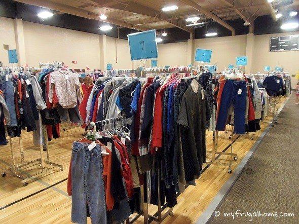 Consignment Sales Floor