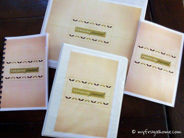 Foraging Journal - Various Formats