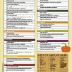 Printable Thanksgiving Dinner Checklist