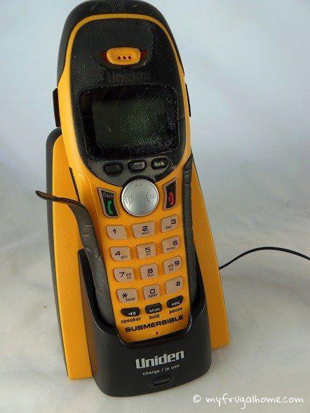 Submersible Cordless Phone