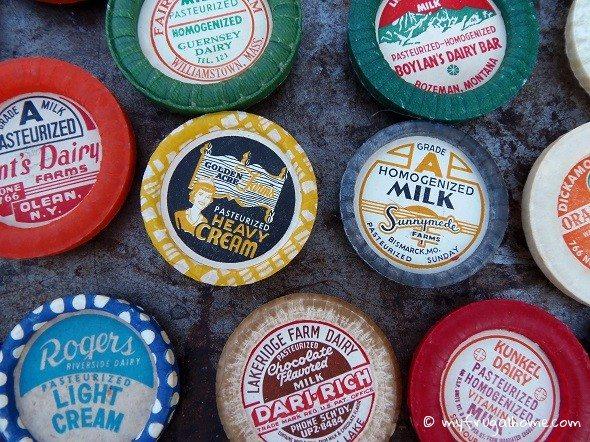 Milk Cap Magnets