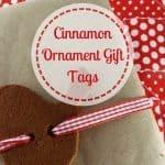 Cinnamon Ornament Gift Tags