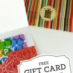 gift card holder templates