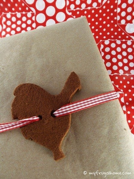 Cinnamon Ornament Gift Tags