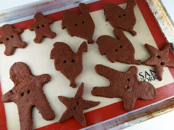 Cinnamon Ornaments - Ready for the Oven