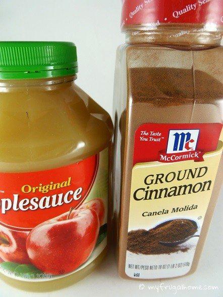 Cinnamon Ornament Ingredients