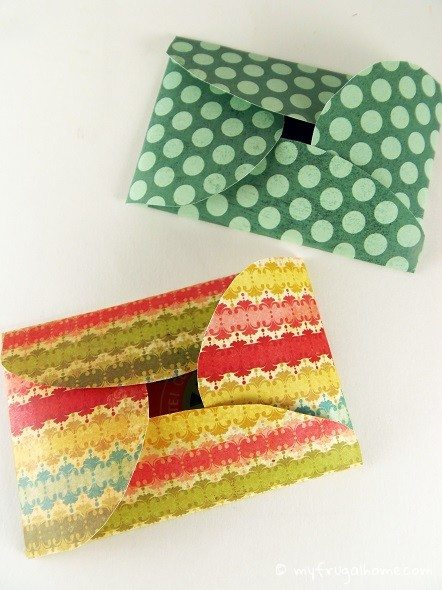 Gift Card Envelopes - Folding Flaps