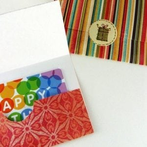 Gift Card Envelopes - Seal Shut