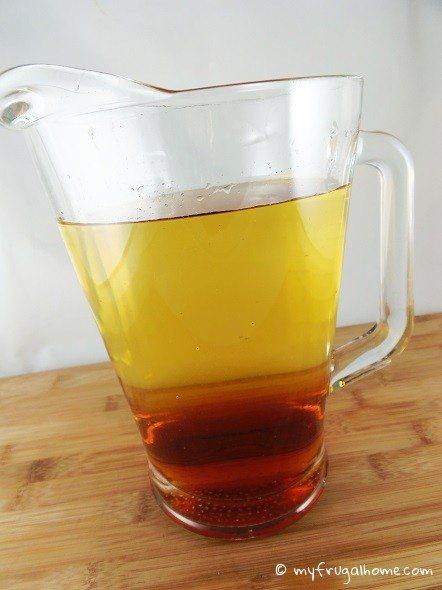 Pitcher of Sparkling Cider
