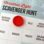 Printable Christmas Light Scavenger Hunt