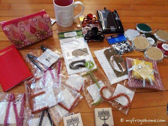 Contents of Grab Bag