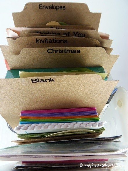 Greeting Card Dividers