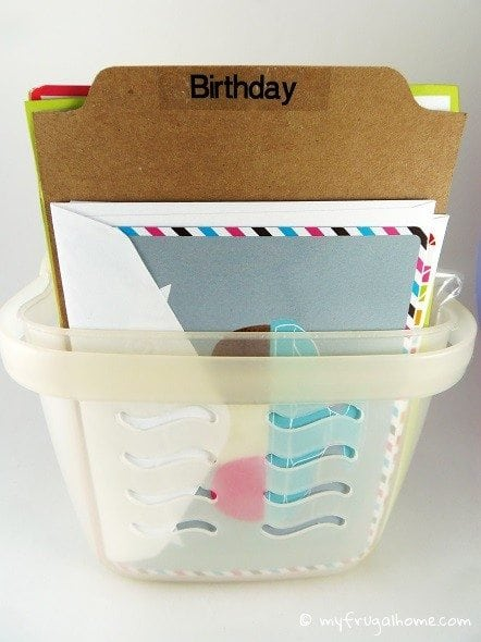 How to Organize Greeting Cards