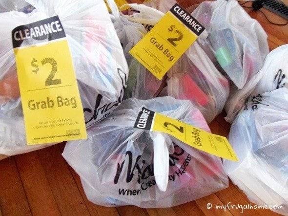 Michaels Grab Bags