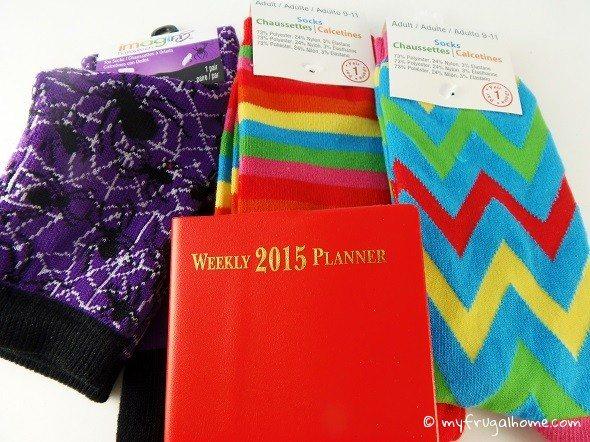 Socks and Planner