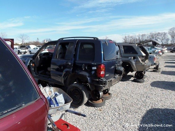 Junked Jeep