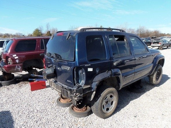 Scrapped Jeep