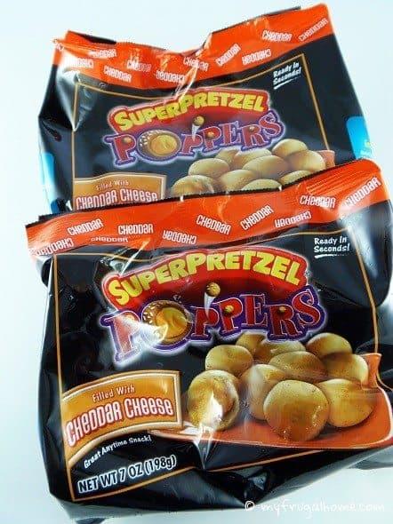 Super Pretzel Poppers