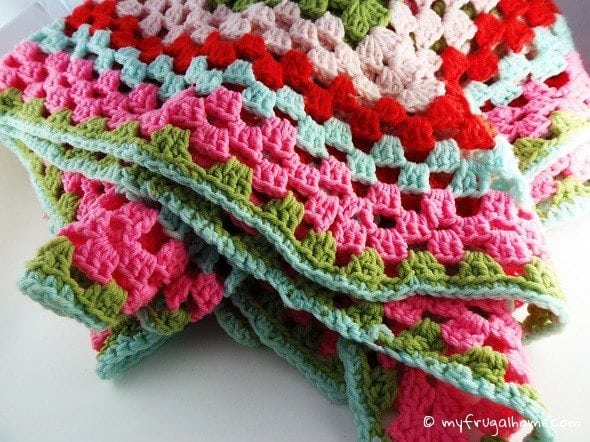 Crocheted Afghan