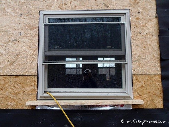 Final Window Installed