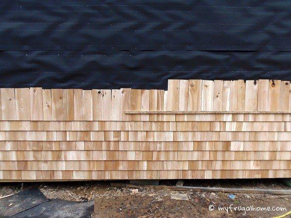 Installing Cedar Shakes