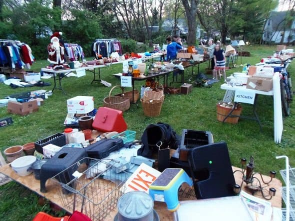 Benefit Yard Sale