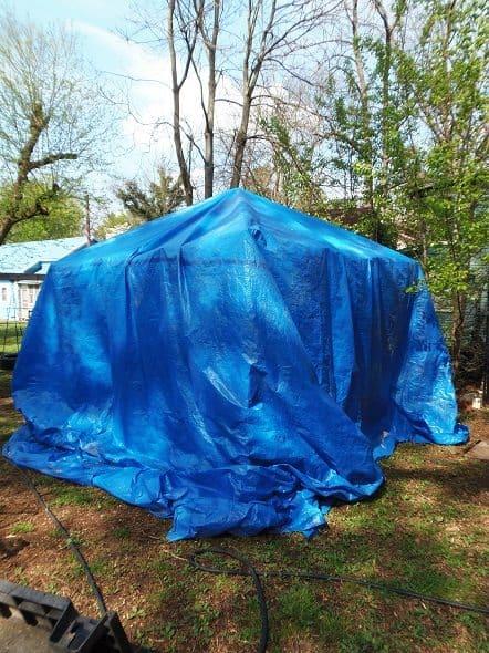 Tent Full of Furniture