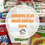 Foods Purchased at an Amish Salvage Store