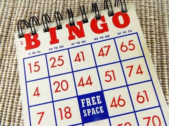 Bingo Card Notepads