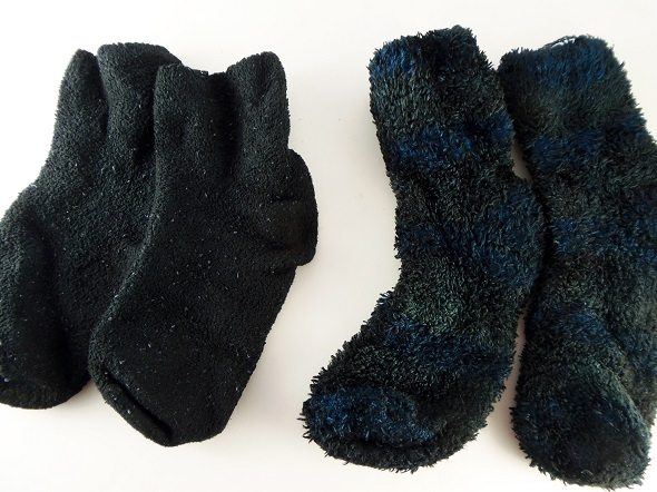 Redyed Fleece Socks
