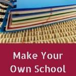 Homemade Five-Subject Notebook