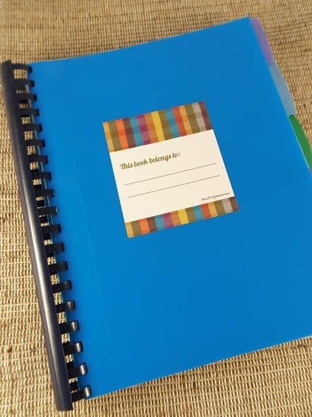 Five-Subject Notebook Cover