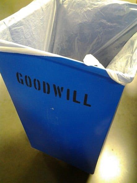 Goodwill Outlet Cart